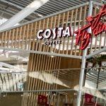 Rozsmakuj się w odlotowym koncepcie Costa Coffee FlyDining na warszawskim Okęciu