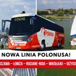 Polonus otwiera nową linię na Mazury!